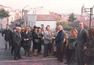 1995-96: I soci in visita al club di Melfi