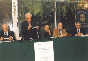 1998-99: Presentazione del libro di Catello Parisi 'Il Clero meridionale nei fatti del 1799'