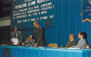 1997-98: XI Edizione Premiazione degli Alunni Meritevoli