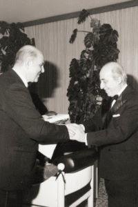 1971-72 : I Presidenti Giovanni degli Uberti e Bartolo Quartuccio