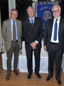 2017-18: Assemblea dei Soci: il Presidente eletto Raffaele Sabato con l'incoming Francesco Di Somma e Giulio Clemente