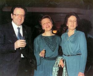 1979-80: Giovanna Carosella con Nicola e Italia Festino