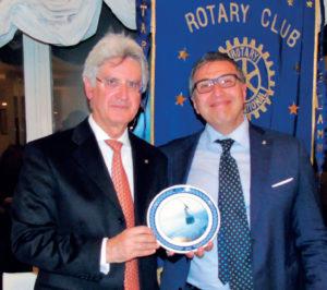 Serata con il Director zona 12 Francesco Arezzo di Trifiletti su: 'Quale futuro per il Rotary?'