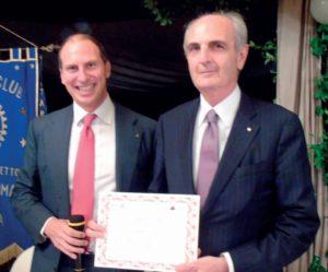 2015-16: Il Club festeggia Salvatore Iovieno, eletto Governatore per l'anno 2018-19