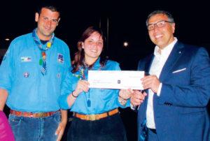 Festa del Mare: il Club dona due tende agli Scout stabiesi