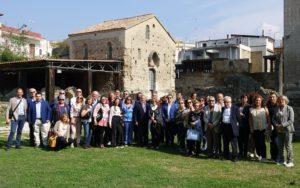 2018-19: I Soci stabiesi in visita alle Basiliche paleocristiane di Cimitile