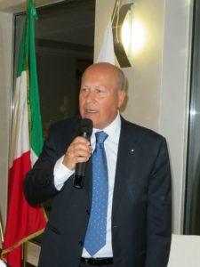 2018-19: Il Past President Vincenzo Arienzo, organizzatore del IV Meeting delle Fellowship rotariane