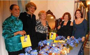 2011-12: Iniziativa benefica delle socie dell'Inner Wheel alla Festa degli Auguri