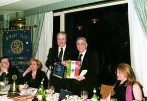 1999-00: Interclub con Roma Sud: i Presidenti Guido Amato e Antonio Cavaleri