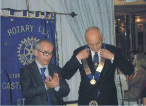 2014-15: Lo scambio delle consegne tra   Franco Martucci e Giancarlo Arienzo