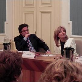 2011-12: Interclub con Lions Terme per la presentazione del saggio 'Una carne sola' di Carlo de la Ville sur Illon e Alba Saddi