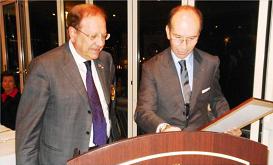 2011-12: Nomina del Governatore Pietro Niccoli a socio onorario del Club