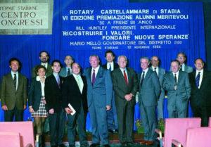 1993-94: VI edizione della Premiazione degli Alunni Meritevoli