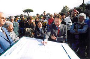 1999-00: Consegna delle planimetrie delle ville degli scavi di Stabiae