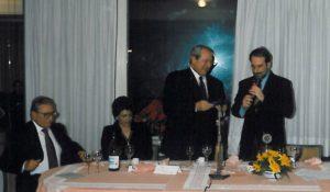1996-97: Il Presidente Quartuccio con il prof. Raffaele Pallotta d'Acquapendente