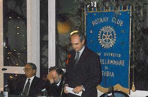 1997-98: Presentazione del libro di Antonio Carosella sugli scavi di Stabiae