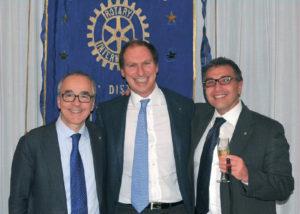 2014-15: Assemblea dei Soci: il Presidente eletto Raffaele Aruta con l'incoming Paolo Cascone e Giancarlo Arienzo