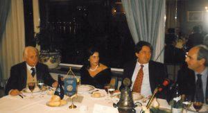 1997-98: Il D.G. della Confindustria, dott.Innocenzo Cipolletta, ospite del Club