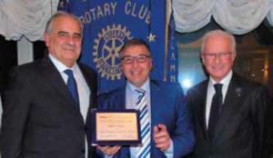 Il premio 'Stabiesi Illustri' al prof. Francesco Saverio Faella