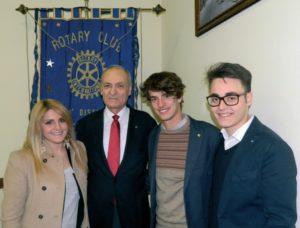 2013-14: Incontro con Rotaract e Interact
