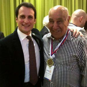 2017-18: Nuovo trionfo di Billy Cosentini ai campionati mondiali rotariani di sci