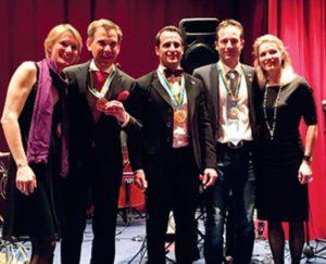 2015-16: La seconda vittoria consecutiva di Billy Cosentini ai Campionati mondiali di sci per rotariani