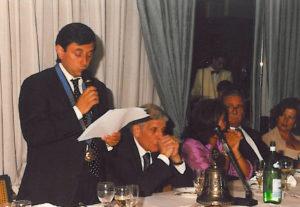 2000-01: Scambio delle consegne tra Guido Amato e Maurizio Santoro