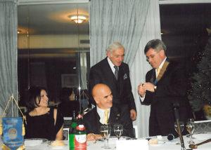 2007-08: Festa degli Auguri – Consegna della P.H.F. a Mimmo Talarico