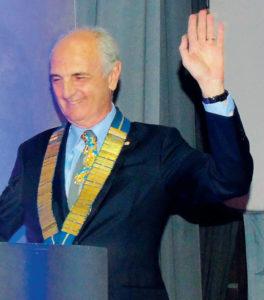 2017-18: L'investitura a Governatore del socio Salvatore Iovieno