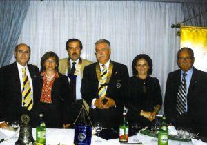 2005-06: Il Governatore Alfredo Focà in visita a Mario Afeltra