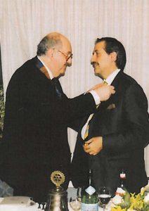 2006-07: Scambio delle consegne tra Mario Afeltra e Giuseppe Centonze