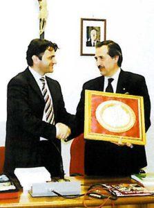 2005-06: Visita all'Amministrazione di Santa Maria la Carità