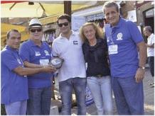 2012-13 Il Presidente Furno alla manifestazione UnaManoVelaDiamo