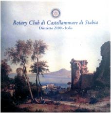 2012-13 La mattonella del Club per la Scalinata della Pace di Castellammare del Golfo