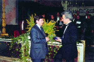 2000-01 : Il Presidente Santoro alla III edizione del Concerto di Pasqua