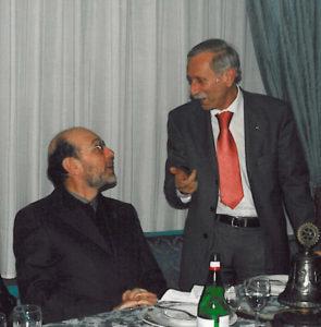 2002-03: Il Presidente De Simone con Don Antonio Cioffi