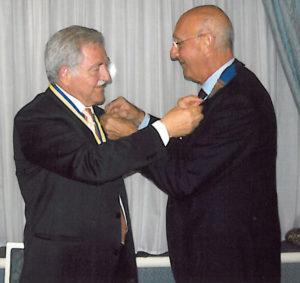 2009-10: Scambio delle consegne tra Egidio Di Lorenzo e Vincenzo Gaeta