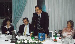 2005-06: L'intervento al club del socio onorario dott. Luigi Riello