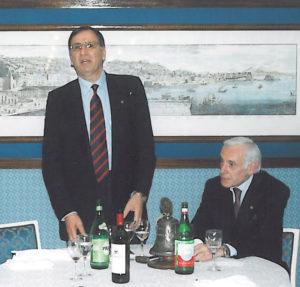 2004-05: L'intervento al Club del dott. Giuseppe La Mura