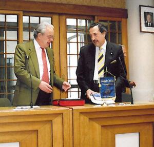 2005-06: Visita all'Amministrazione di S.Antonio Abate