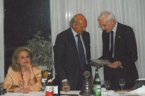 2004-05: Il Presidente Talarico con il giornalista dott. Marco Pellegrini