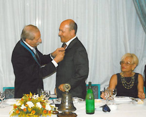 2002-03: Scambio delle consegne tra Vincenzo Arienzo e Enrico De Simone