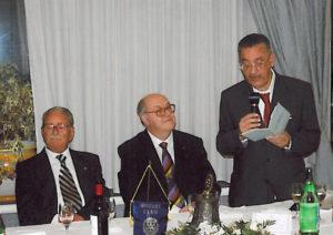 2006-07: Il Presidente Centonze con Antonio Carosella e l'avv. Gaetano Pagano