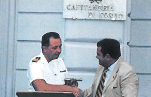 2010-2011: Il Presidente Amelina alla Cerimonia di consegna dei cannoni borbonici alla Città