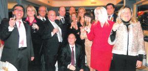 2010-2011: Un Gruppo di soci alla Festa degli Auguri