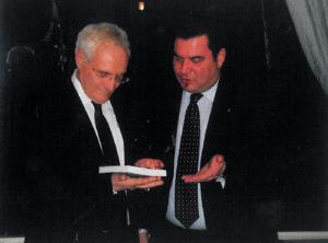 2010-2011: L'intervento al Club del Prof. Francesco Rossi, Rettore Magnifico della II Univ. Di Napoli
