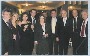 2009-10: Un gruppo di soci alla Festa degli Auguri