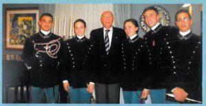 2009-10: Incontro con la scuola militare Nunziatella