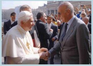 2009-10: Il Presidente Gaeta incontra Papa Benedetto XVI