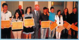 2009-10: XII Edizione Premiazione Alunni Meritevoli